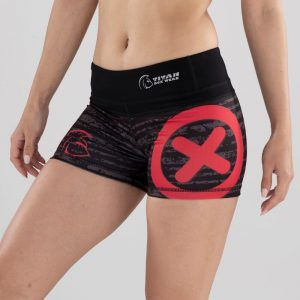 malla-corta-crossfit-mujer-xtamina-storm-red