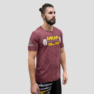 camiseta-crossfit-ecoactive-amrap-crimson-yellow