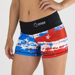 malla-corta-crossfit-mujer-xtamina-red-whit-and-blue