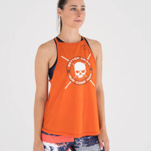 camiseta-crossfit-mujer-ecoactive-integrity-orange-navy