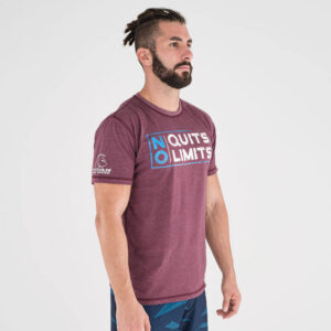 camiseta-crossfit-ecoactive-no-quits-crimson