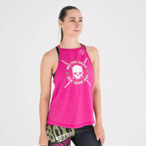 camiseta-crossfit-mujer-ecoactive-integrity-pink-green