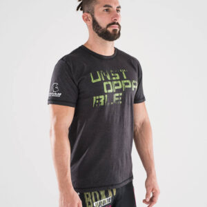 camiseta-crossfit-ecoactive-unstoppable-black-green
