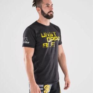 camiseta-crossfit-ecoactive-unstoppable-black-yellow