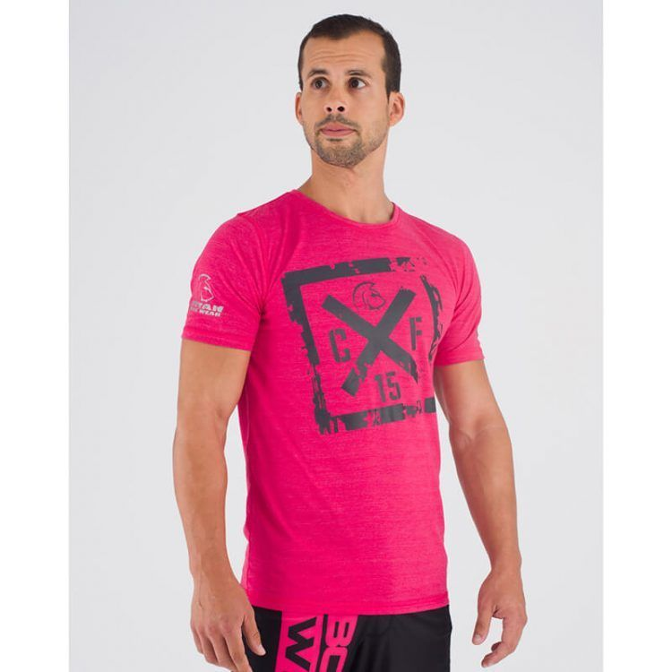 camiseta-crossfit-ecoactive-cross-logo-pink