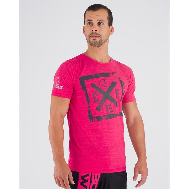 camiseta-crossfit-ecoactive-cross-logo-pink