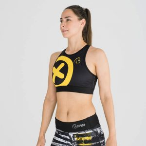 sujetador-deportivo-crossfit-xtamina-edge-cross-logo-yellow