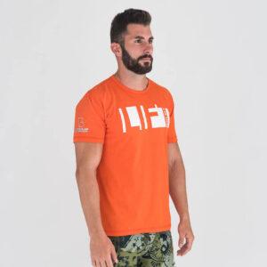 camiseta-crossfit-ecoactive-lift-heavy-sh-t-orange