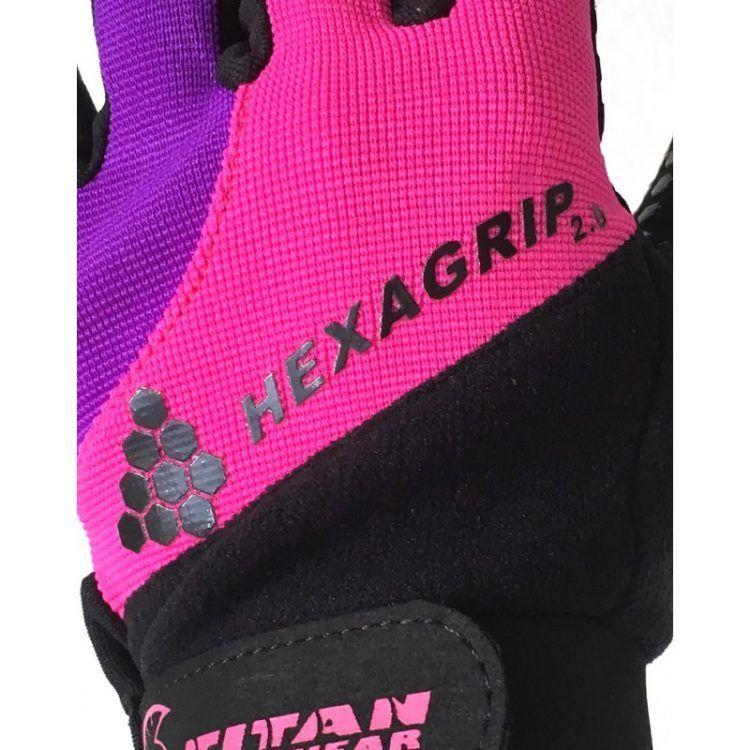 Guantes HEXAGRIP 2.0 (Ultra Pink)
