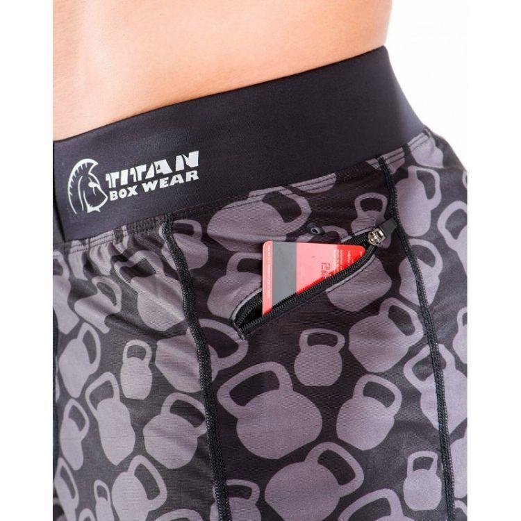 Pantalón Corto CrossFit Endurance (Flying Kb)