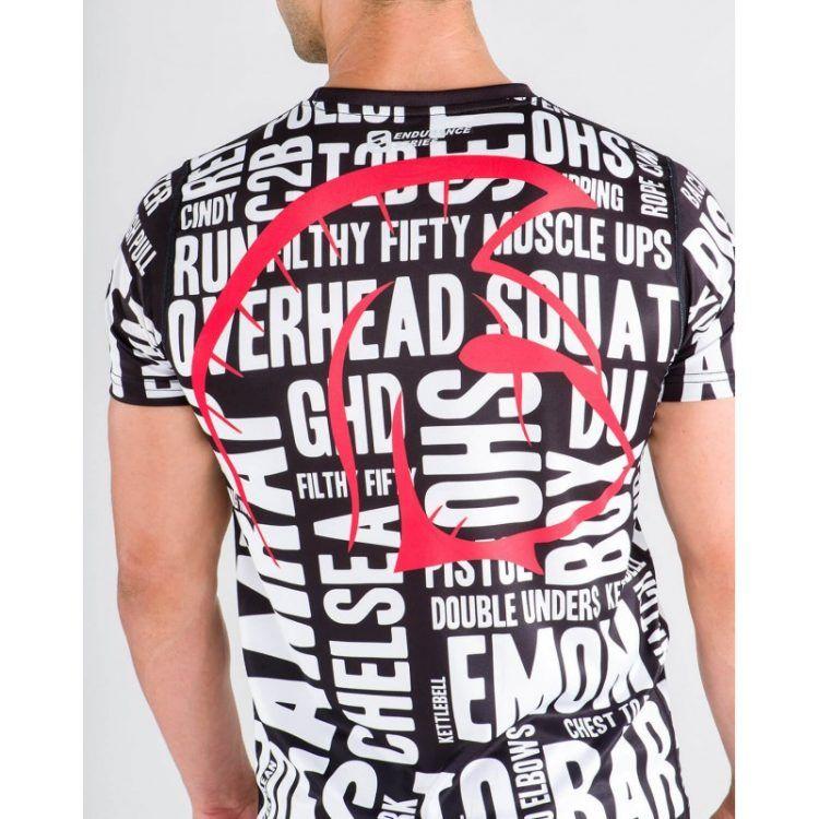 Camiseta Endurance (Box Lingo BW)