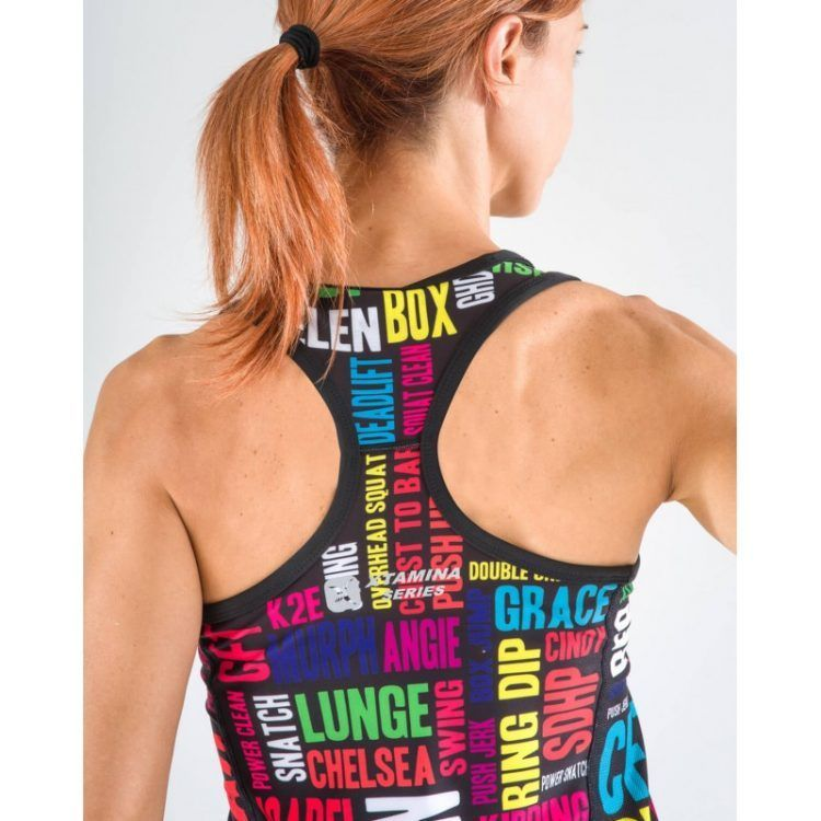Camiseta sin mangas Xtamina (Box Lingo)