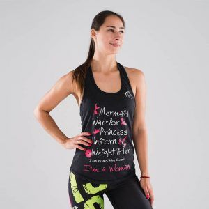 camiseta-crossfit-mujer-ecoactive-I-am-a-awoman