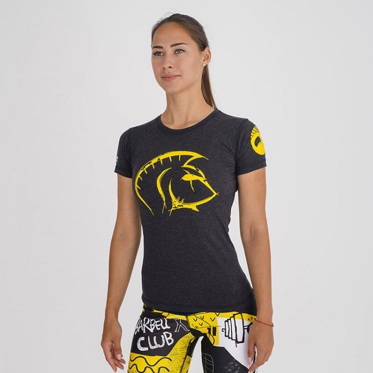 camiseta-crossfit-mujer-ecoactive-concept-yellow
