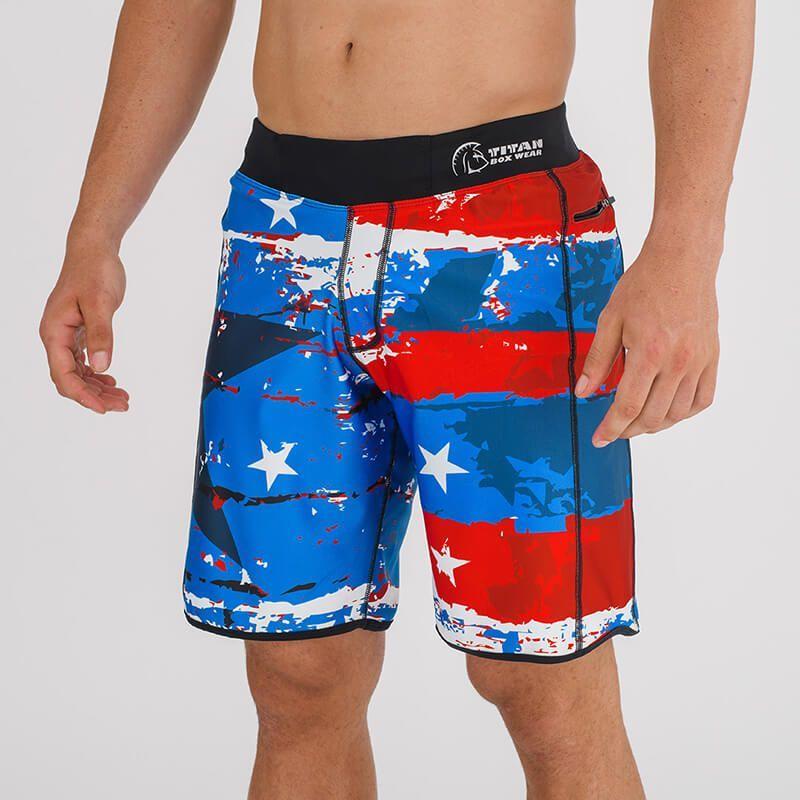 mejor servicio venta caliente más nuevo comprar real Pantalón Corto Endurance (Red, White and Blue)